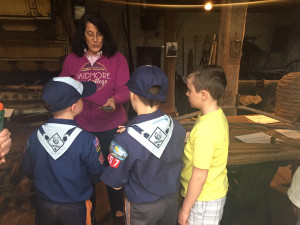 Boy Scouts at Museum